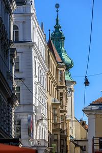 Führchgasse und Annakirche, Wien