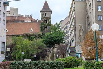 Ruprechtskirche aus dem 12. Jhd.