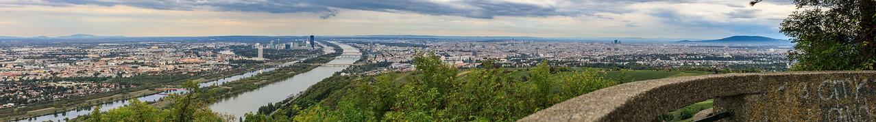 Wien vom Kahlenberg aus gesheen