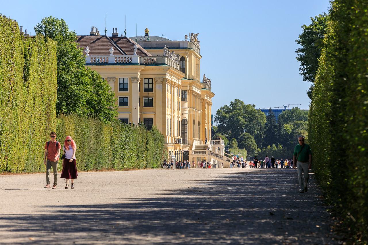 Schloss Schönbrunn, Schlossgarten