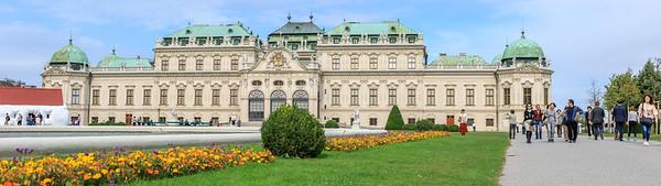 Belvederegarten undUnteres Belvedere, Wien