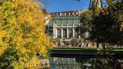 Schmetterlings- und Palmenhaus in Wien
