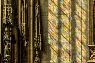 Lichtspiele im Stephansdom