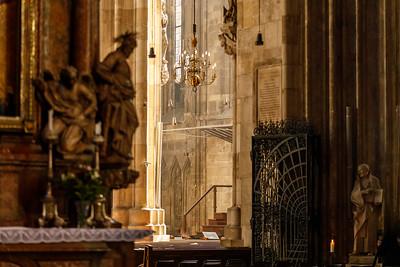 Durchblicke im Stephansdom
