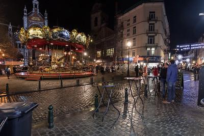 Weihnachtsmarkt, Brüssel