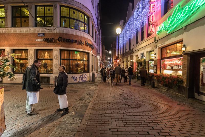Rue des Domincains, Brüsssel