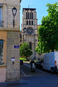 Turm der Cathédrale Saint-Jean-Baptiste