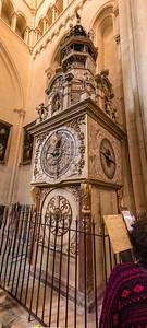 Astronomische Uhr in der Kathedrale Saint-Jean zu Lyon