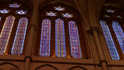Fenster der Cathédrale Saint-Jean-Baptiste, Lyon