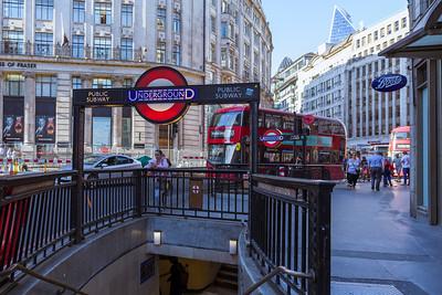 Subway Station Monument, Gracechurchstreet, London