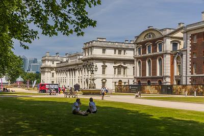 Naval College Gardens, Greenwich
