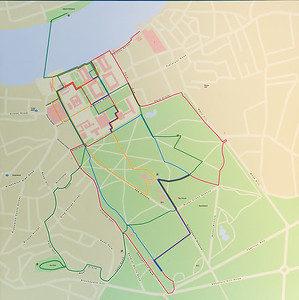 Map of Greenwich