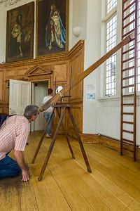 Refracting telescope in Octagon Room, Greenwich