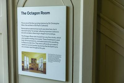Christopher Wren's Octagon Room, Greenwich