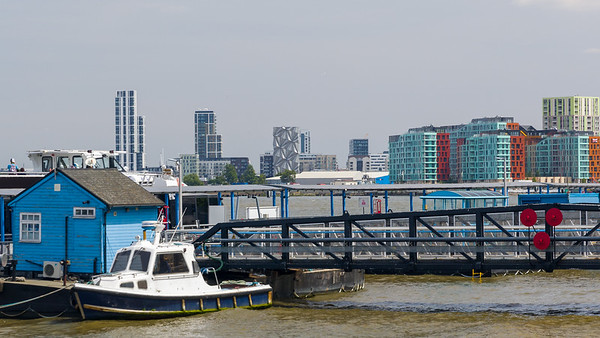 Greenwich Pier, Isle Of Dogs, Themse (Thamse)