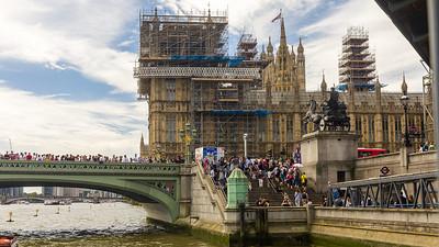 Big Ben, House of Parliament, Westminster Bridge, London