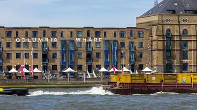 Columbia Wharf, Thamse, London