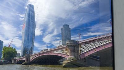 One Blackfriars Tower, Black Friars Bridge, London,
