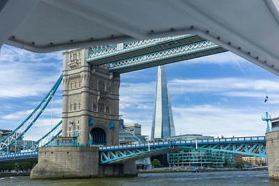 Tower Bridge, The Shard, Thamse, London