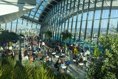 Sky Garden of Walkie Talkie, London