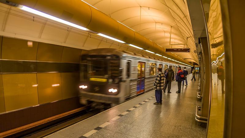 U-Bahn, Prag