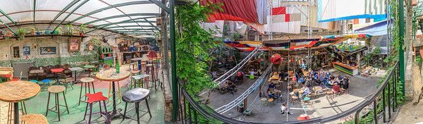 Szimpla Kert - Pano from above