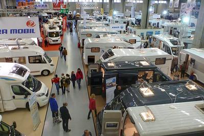 Besuch des Suisse Caravan Salon am 25. Oktober 2014 im BERNEXPO-Gelände in Bern