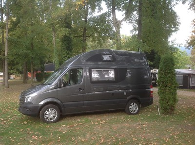 Erste Nacht im Camping Paradis-Plage am Neuenburgersee