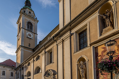 Spaziergang in Ljubliana: Die St. Nikolaus Kathedrale