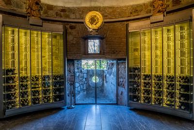 Spaziergang in Ljubliana: Das Weinlager eines Nobelrestaurants auf der Burg von Ljubliana