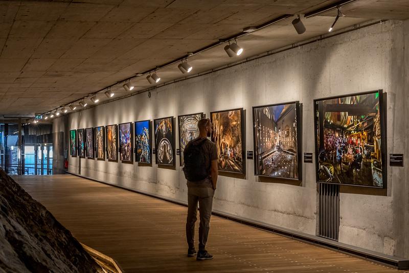 Spaziergang in Ljubliana: Fotoausstellung von «National Geographic» in der Burg von Ljubliana