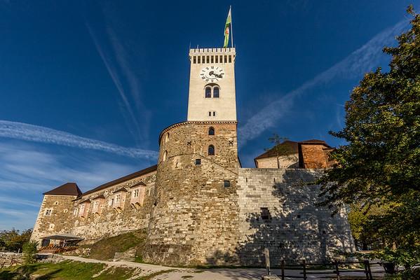 Spaziergang in Ljubliana: Die Burg von Ljubliana