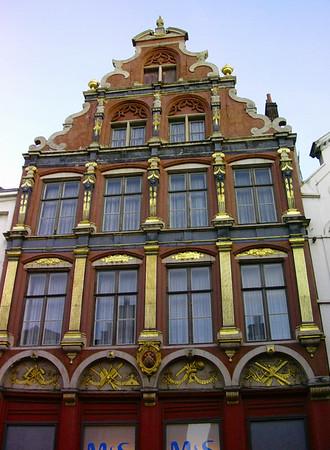 Fasade i Steenstraat (Foto: Ståle)