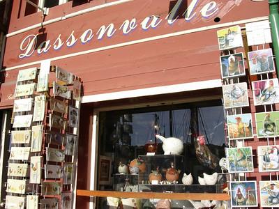 Dassonvalle nipshøneutsalg (Foto: Ståle)