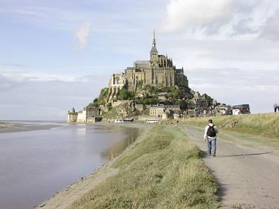Le Mont Saint-Michel (Foto: Ståle)