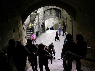 Klosterkirkens inngangsportal (Foto: Ståle)