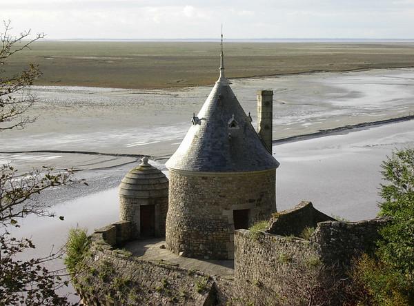 Bymurtårn og lavslettelandskap (Foto: Ståle)