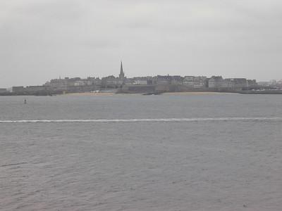 St Malo Intra Muros fra Dinard (Foto: Ståle)
