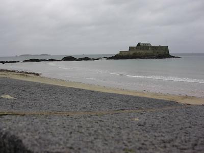 Fort National fra bymuren (Foto: Ståle)