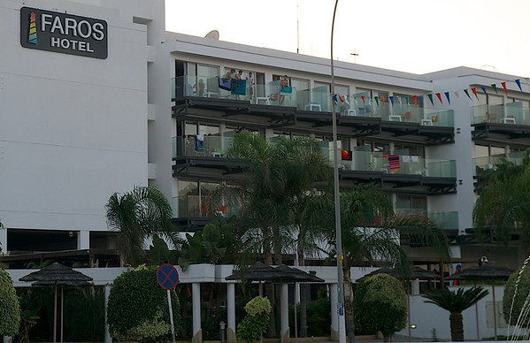 Faros Hotel - Home of the night owls.