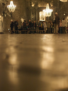 The large chapel seen from the floor. (Foto: Geir)
