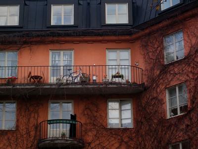 Detaljer fra en bygård i Norrmalm (Foto: Ståle)
