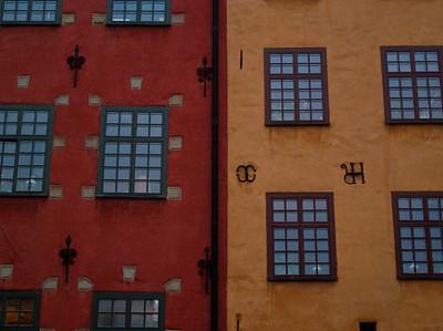 Detaljer fra Stortorget i Gamla Stan (Foto: Ståle)