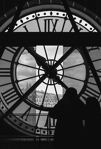 The Clock at Musée D'Orsay, Paris
