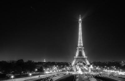 Torre Eiffel n.02 - B&W