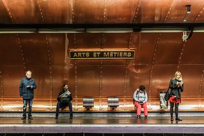 Arts et Metiers Metro Station