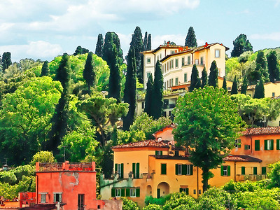 View from Florence- (Item-4769)