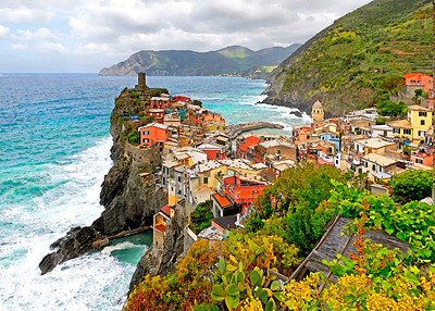 Vernazza from Footpath- (Item-4685)