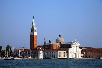 San Giorgio Maggiore (across the Lagoon from St. Mark's Square)