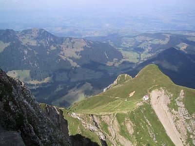 View from the top of Mt. Pilatus, Switzerland
